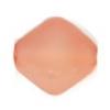Glass Bead Lanterns 6mm Champagne Pink Matt Strung